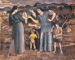 Mothers and Children in a Landscape