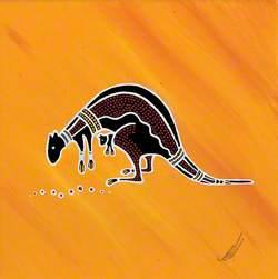 Composition with Kangaroo