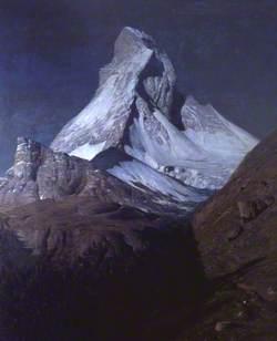 Matterhorn, Moonlight: 'Claire de lune sur le Cervin'