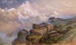 Matterhorn and Val Tournache (Early Dawn)
