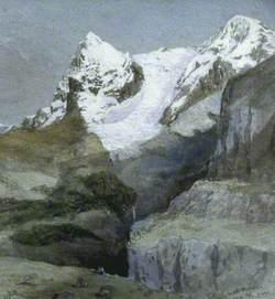 Eiger and Mönch from near Mürren