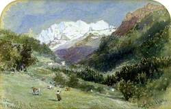 Blüemlisalp from the Kiental