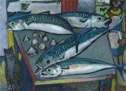 Still Life with Mackerel