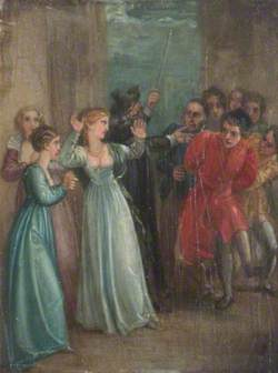 A Scene from William Shakespeare's 'A Comedy of Errors'