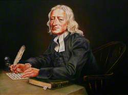 John Wesley (1703–1791), Holding a Quill Pen