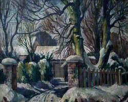 Snow Scene, Healing, Lincolnshire