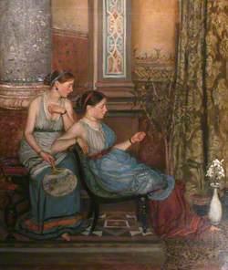 Two Women (Greek Girls)