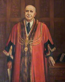 Alderman J. H. Tate, JP, Mayor of Grimsby (1913–1914)