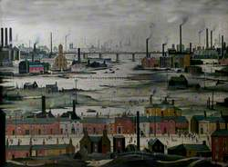 Industrial Landscape, River Scene
