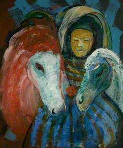 Bedouin and Horses