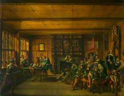 The Mayor and Town Council of Leicester in the Mayor's Rooms