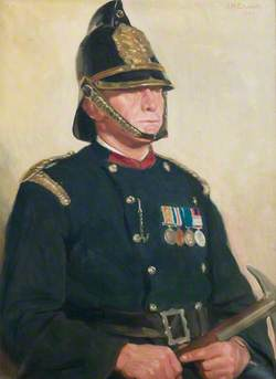 Captain Spriggs, Ruston and Hornsby Fire Brigade