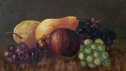 Still Life with an Apple, Pears and Grapes