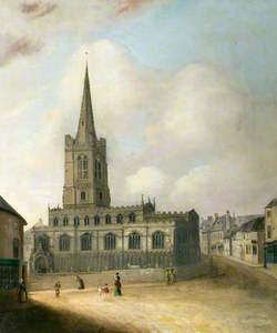 All Saints' Church, Red Lion Square, Stamford, Lincolnshire