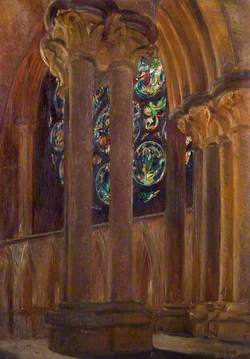 Dean's Eye, Lincoln Cathedral from the Clerestory