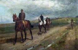 Horses Returning from Exercise, Newmarket Heath, Suffolk