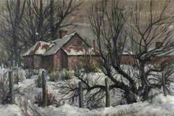 Snow at Healing, Lincolnshire