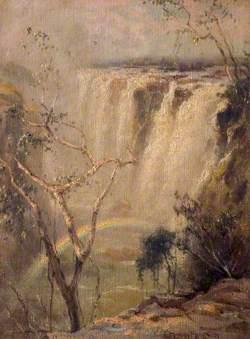 Victoria Falls on the Zambezi, Zimbabwe