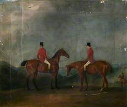 Two Huntsmen in a Landscape
