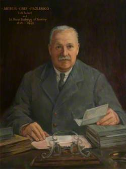 The Right Honourable Arthur Grey Hazlerigg (1878–1949), 1st Baron Hazlerigg of Noseley, Lord Lieutenant of Leicestershire (1925–1949) (copy of R. Swan)