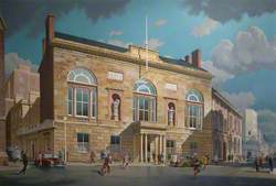 The County Rooms Leicester, Exterior View