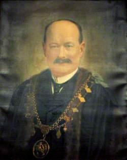 Alderman George Blaze, Mayor of Louth (1911)
