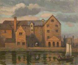 The Back of Bennett's Mill, Old Bone Mill and Gasworks, Grimsby, Lincolnshire