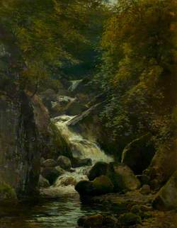 A Stream from the Hills, Brecon, Powys