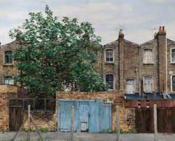 Behind Tottenham High Road