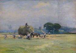 Haymaking at Church Farm