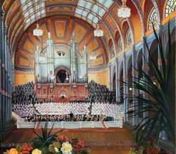 Willis Organ at Alexandra Palace