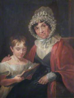 Sarah Lea, Wife of Thomas Wright Hill, and Her Daughter