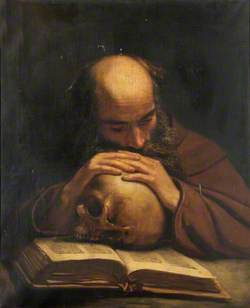 Soothsayer with a Skull