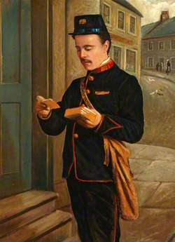 Portrait of a Postman (Alex Buchanan)