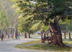 Broomfield Park, Lake and Swings