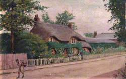 Cottage, Triangle, Palmers Green