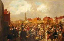 Romford Market Place, c.1891