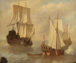 A Dutch States Yacht