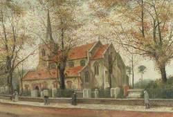 View of St Mary's Church, Stoke Newington