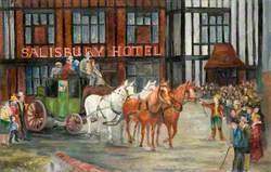 'Salisbury Hotel', Barnet High Street