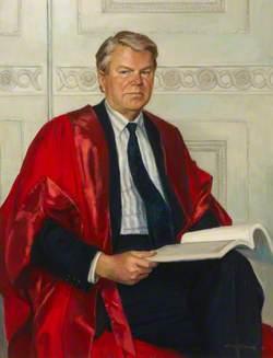 Professor John Varey, Principal of Westfield College (1983–1989)