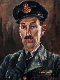 Portrait of an RAF Officer