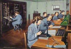 CH (Chain Home) Receiver Room