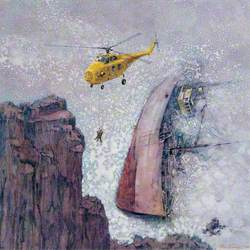 Westland Whirlwind on Air Sea Rescue Duties