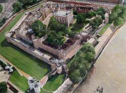 Artist's Impression of the Tower of London Site, 1999