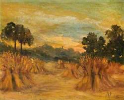 Field with Haystacks, Wanstead