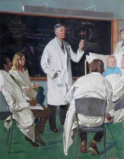 Clifford Wilson MA, Professor of Medicine, Lecturing