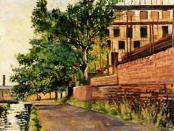Canal Scene, Victoria Park Area