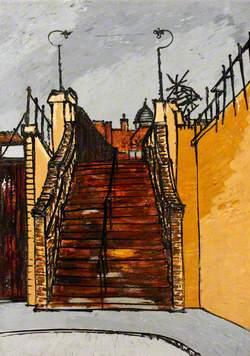 Pedestrian Bridge, Poplar (Spratt's Bridge over London and North Eastern Railway)
