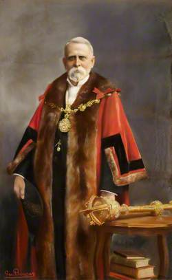 Alderman W. J. Barker (c.1843–1919), Mayor of Stepney (1903–1904)